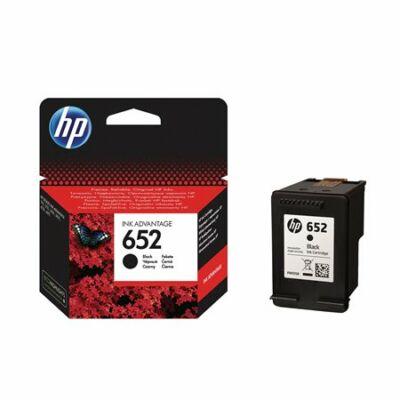 HP Nr.652 (F6V25AE) eredeti fekete tintapatron, ~360 oldal