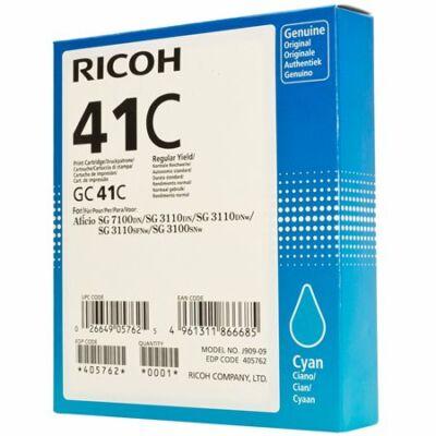 Ricoh GC41C cián gélpatron, ~2200 oldal (405762)
