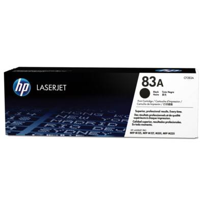 HP CF283A fekete toner, eredeti  (≈1500 oldal)