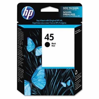 HP Nr.45 (51645AE) eredeti fekete tintapatron, ~900 oldal