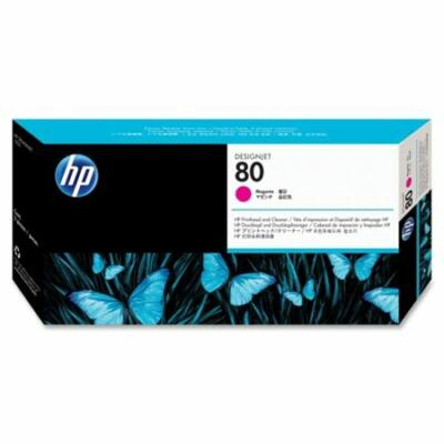 HP Nr.80 (C4822A) eredeti magenta nyomtatófej, ~4400 oldal
