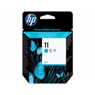 HP Nr.11 (C4836AE) eredeti cián tintapatron, ~1000 oldal