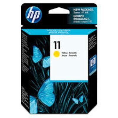 HP Nr.11 (C4838AE) eredeti sárga tintapatron, ~1000 oldal