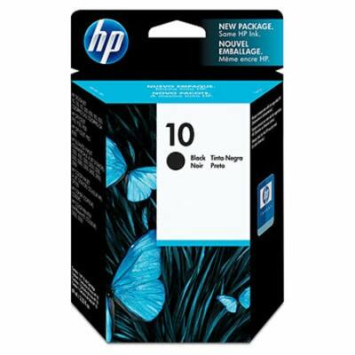 HP Nr.10 (C4844AE) eredeti fekete tintapatron, ~1400 oldal