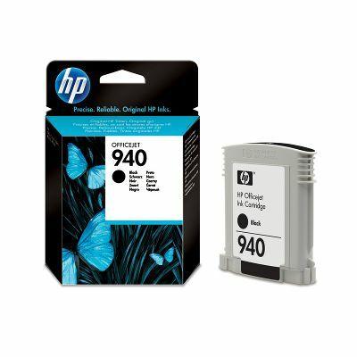 HP Nr.940 (C4902AE) eredeti fekete tintapatron, ~1000 oldal