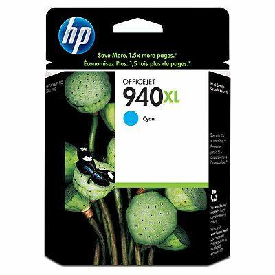 HP Nr.940XL (C4907AE) eredeti cián tintapatron, ~1400 oldal