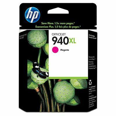 HP Nr.940XL (C4908AE) eredeti magenta tintapatron, ~1400 oldal
