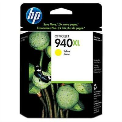 HP Nr.940XL (C4909AE) eredeti sárga tintapatron, ~1400 oldal