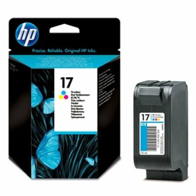 HP Nr.17 (C6625AE) eredeti színes tintapatron, ~500 oldal