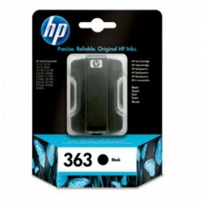 HP Nr.363 (C8721EE) eredeti fekete tintapatron, ~300 oldal