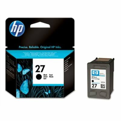 HP Nr.27 (C8727AE) eredeti fekete tintapatron, ~280 oldal