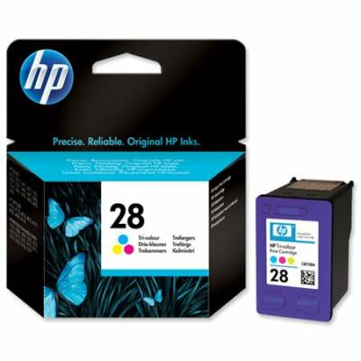 HP Nr.28 (C8728AE) eredeti színes tintapatron, ~240 oldal