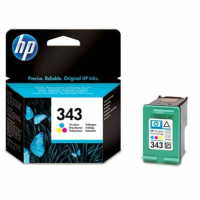 HP Nr.343 (C8766EE) eredeti színes tintapatron, ~330 oldal