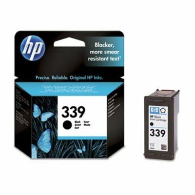 HP Nr.339 (C8767EE) eredeti fekete tintapatron, ~860 oldal