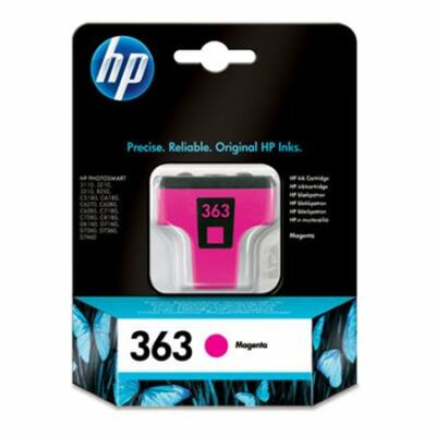 HP Nr.363 (C8772EE) eredeti magenta tintapatron, ~400 oldal