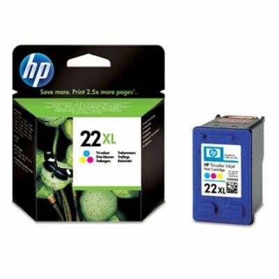 HP Nr.22XL (C9352CE) eredeti színes tintapatron, ~415 oldal