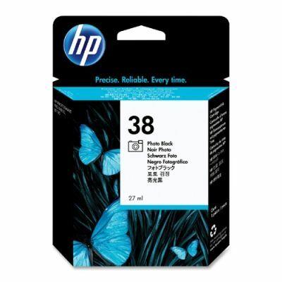 HP Nr.38 (C9413A) eredeti foto fekete tintapatron, ~1340 oldal