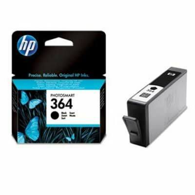 HP Nr.364 (CB316EE) eredeti fekete tintapatron, ~250  oldal