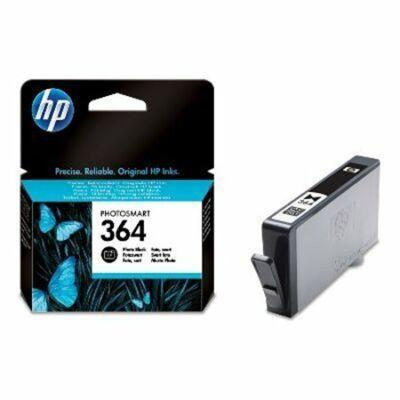 HP Nr.364 (CB317EE) eredeti fotó fekete tintapatron, ~130 oldal