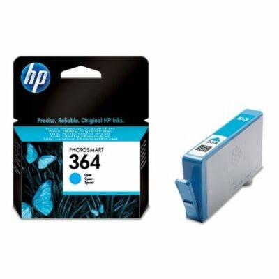 HP Nr.364 (CB318EE) eredeti cián tintapatron, ~300 oldal