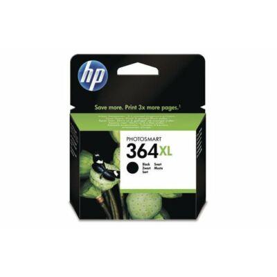 HP Nr.364XL (CN684E) eredeti fekete tintapatron, ~550 oldal