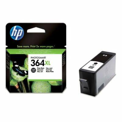 HP Nr.364XL (CB322EE) eredeti fotó fekete tintapatron, ~290 oldal