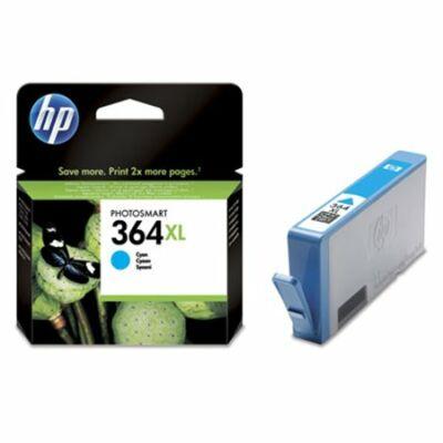 HP Nr.364XL (CB323EE) eredeti cián tintapatron, ~750 oldal