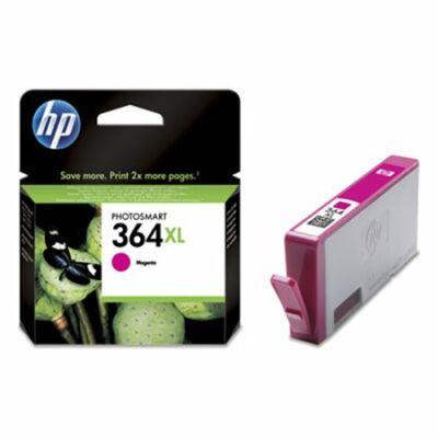 HP Nr.364XL (CB324EE) eredeti magenta tintapatron, ~750 oldal
