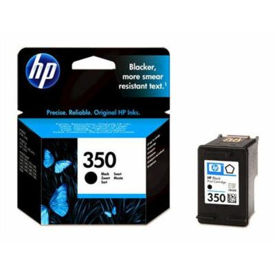 HP Nr.350 (CB335EE) eredeti fekete tintapatron, ~200 oldal