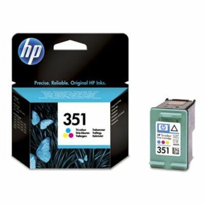HP Nr.351 (CB337EE) eredeti színes tintapatron, ~170 oldal