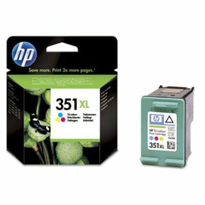 HP Nr.351XL (CB338EE) eredeti színes tintapatron, ~580 oldal