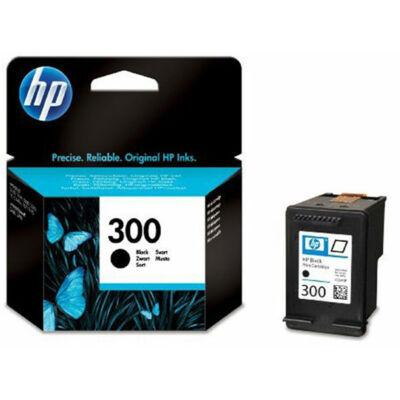 HP Nr.300 (CC640EE) eredeti fekete tintapatron, ~200 oldal