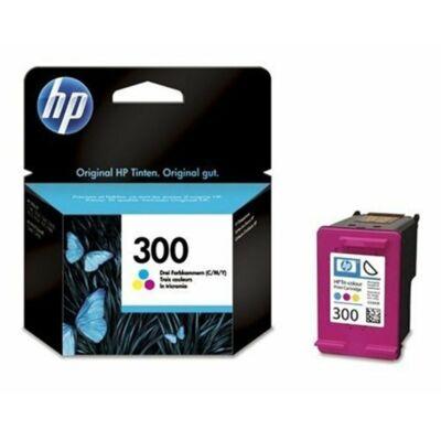 HP Nr.300 (CC643EE) eredeti színes tintapatron, ~165 oldal