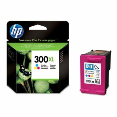 HP Nr.300XL (CC644EE) eredeti színes tintapatron, ~440 oldal