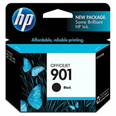 HP Nr.901 (CC653AE) eredeti fekete tintapatron, ~200 oldal