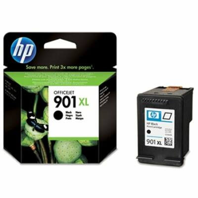 HP Nr.901XL (CC654AE) eredeti fekete tintapatron, ~700 oldal