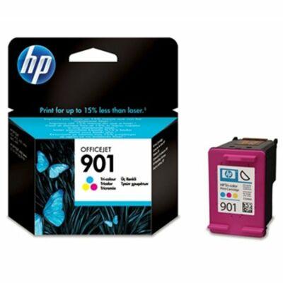 HP Nr.901 (CC656AE) eredeti színes tintapatron, ~360 oldal