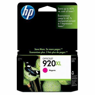 HP Nr.920XL (CD973AE) eredeti magenta tintapatron, ~700 oldal