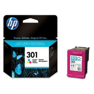 HP Nr.301 (CH562EE) eredeti színes tintapatron, ~165 oldal