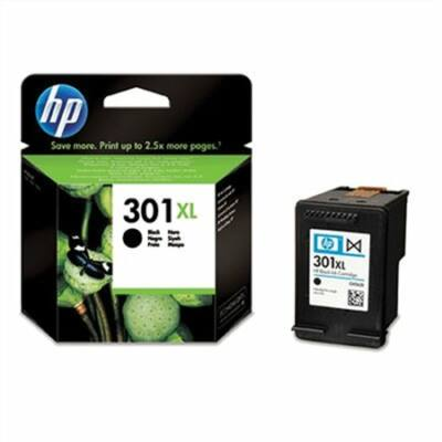 HP Nr.301XL (CH563EE) eredeti fekete tintapatron, ~480 oldal