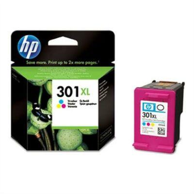 HP Nr.301XL (CH564EE) eredeti színes tintapatron, ~360 oldal
