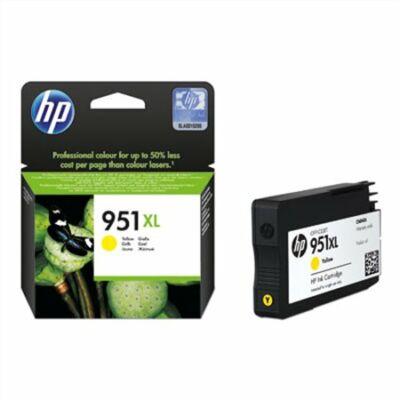 HP Nr.951XL (CN048AE) eredeti sárga tintapatron, ~1500 oldal