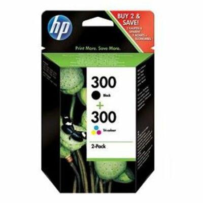 HP Nr.300 (CN637EE) eredeti (fekete-színes) tintapatron multipakk,  ~ 365  oldal