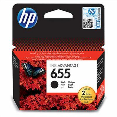 HP Nr.655 (CZ109AE) eredeti fekete tintapatron, ~550 oldal