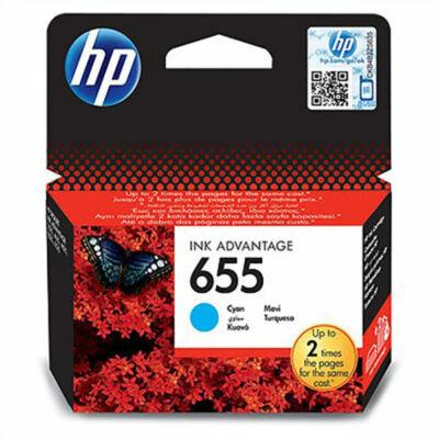HP Nr.655 (CZ110AE) eredeti cián tintapatron, ~600 oldal