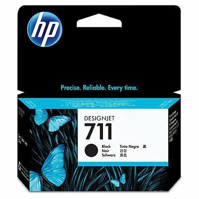 HP Nr.711 (CZ129A) eredeti fekete tintapatron, ~1200 oldal