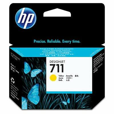 HP Nr.711 (CZ132A) eredeti sárga tintapatron, ~870 oldal