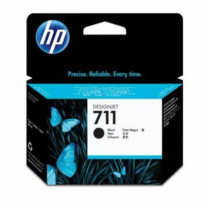 HP Nr.711XL (CZ133A) eredeti  fekete tintapatron,  ~ 2400  oldal