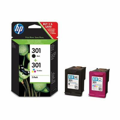 HP Nr.301 (CR340EE/N9J72AE) eredeti (fekete-színes) tintapatron multipakk, ~355 oldal