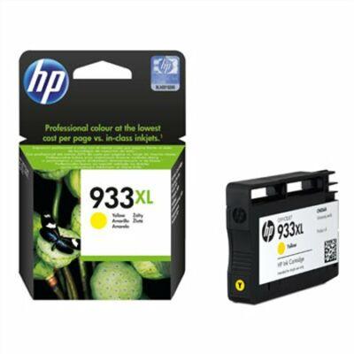 HP Nr.933XL (CN056AE) eredeti sárga tintapatron, ~825 oldal